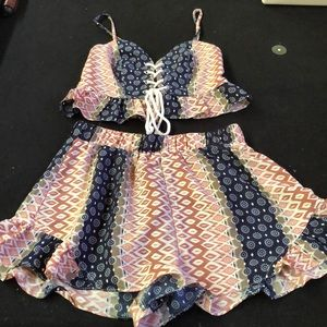 Other - 2 piece adorable short and shirt